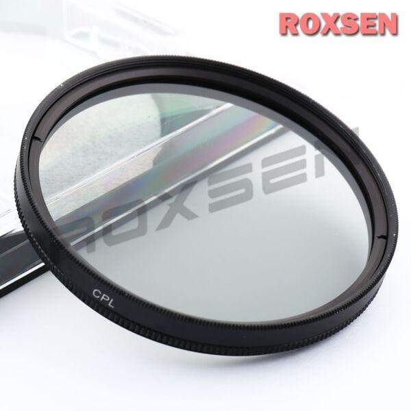 67mm Cpl Circular Polarizing Lens Filter For Dslr Canon Nikon Sony Sigma Tamron