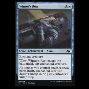 winter/'s rest 078//254 common foil