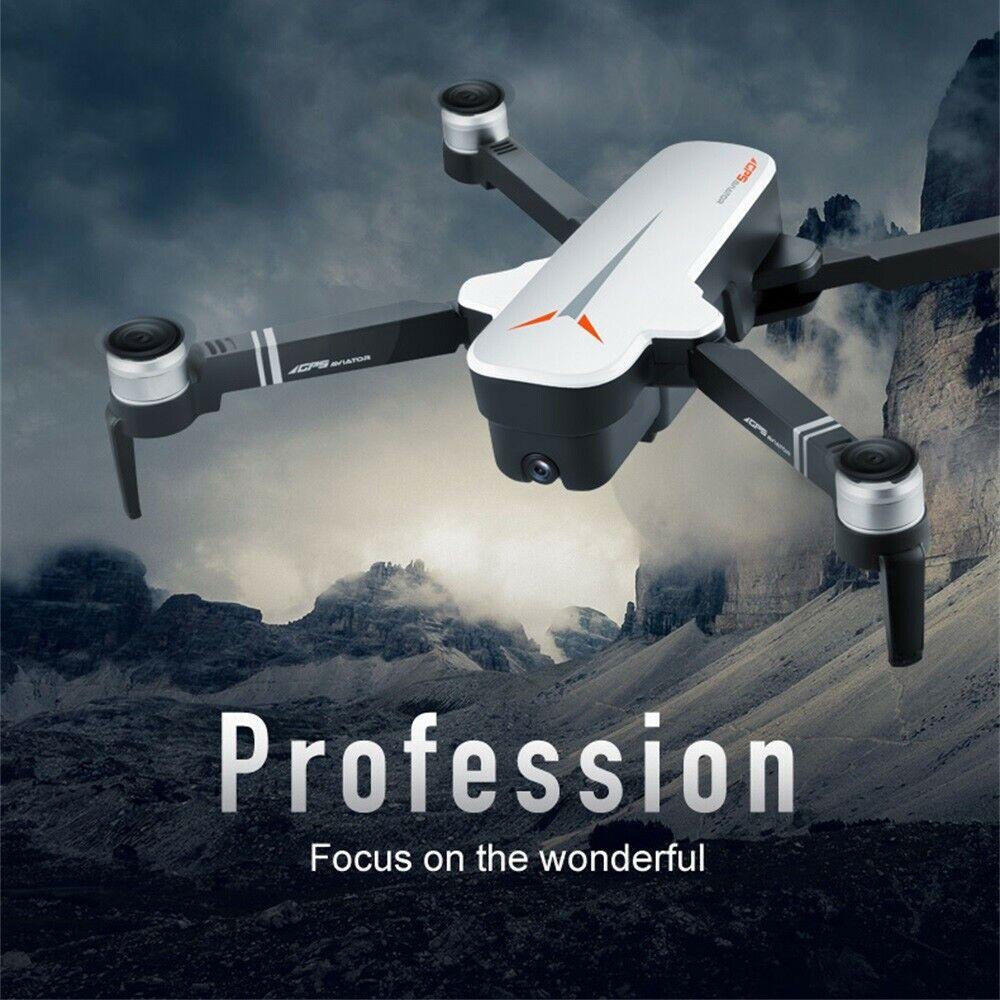 GPS 5G WIFI FPV RC Drohne 4K  12MP Kamera Brushless Selfie Faltbare RC Quadcopter  il più economico
