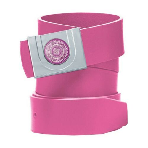 Ladies Ball Marker Belt Magnetic Buckle Pin Fastening One Size 8-16 Pink Fuchsia
