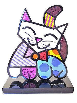 Romero Britto Cat Cat 2d Figure Sculpture 20116c Consumers First