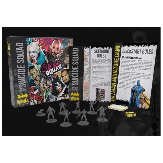 Knight Models Batman Miniatures Game  Suicide Squad Bat-Box