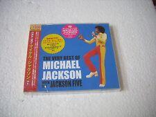 MICHAEL JACKSON + JACKSON 5 - THE VERY BEST - JAPAN CD JEWEL CASE