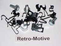 1970-76 Plymouth Duster 5/16 Fuel Line Clips Set 162