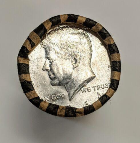 1964 P or D Kennedy Half Dollar SHOTGUN ROLL OBW Fresh AU BU Coins SILVER