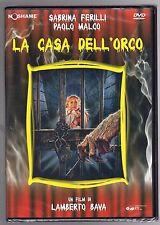 dvd LA CASA DELL'ORCO Lamberto BAVA Sabrina FERILLI Paolo MALCO