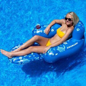 Swimline Tropical Swimming Pool Floating Chair 2 Pack | eBay
