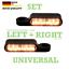 Harley-LED-Blinker-getoent-Blinkerhalter-Lenker-Armatur-E-geprueft-Softail-paar Indexbild 1