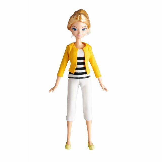 "BANDAI ZAG Miraculous Chloe, Ladybug, Heroez, Doll, 26cm/10.2""."