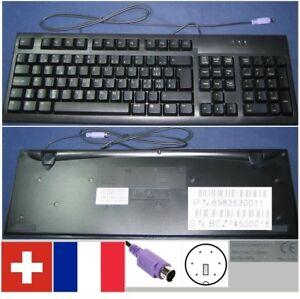 Clavier-Qwertz-Swiss-Francais-Packard-Bell-5107A-6983530011-port-PS-2