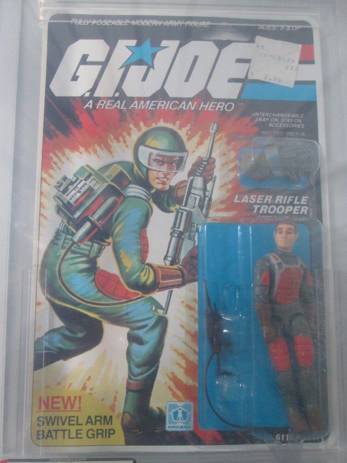 1983 GI Joe Flash Series 2 20 Back AFA 70 EX+