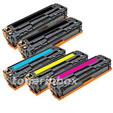 5 Compatible CB540A CB541A CB542A CB543A 125A Toner For HP CM1312 CP1215 CP1518