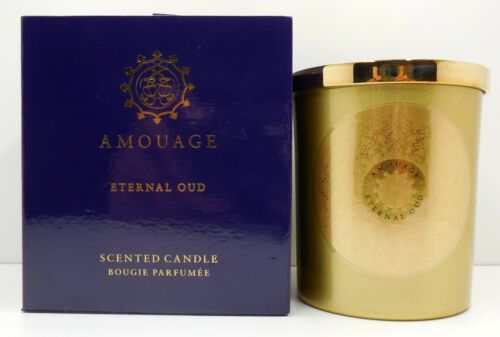 AMOUAGE ETERNAL OUD SCENTED CANDLE 195 G// 6.9 OZ.