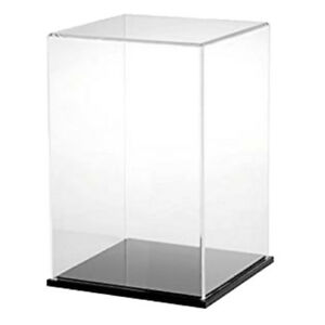 13x13x23cm Acrylic Toy Display Show Case Box Action Figure Protection Tool