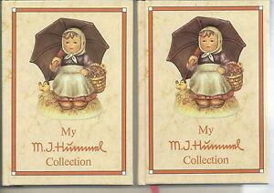 AF-073 - Two My M.J. Hummel Collection Books Vintage 1985 Versions