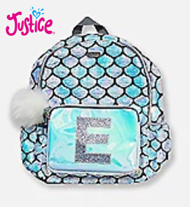 dc99742c8712 Details about New Justice Mermaid Sequin Initial