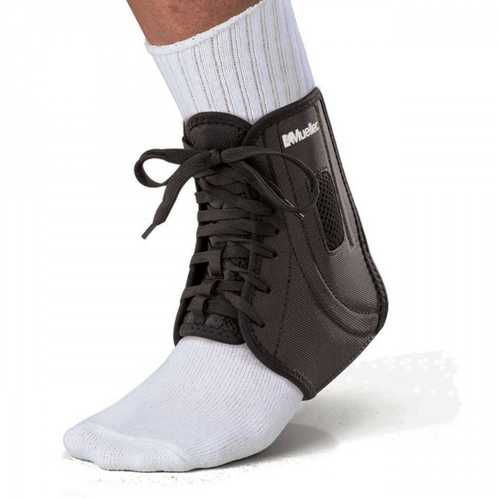 Mueller Sports ATF2 Ankle Support Premium Self Adjustable Brace Strap SALE
