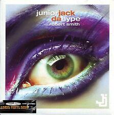 ♫ CD SINGLE JUNIOR JACK FEAT ROBERT SMITH - DA HYPE ♫