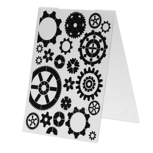 DIY Embossing Folder Template Cutting Dies Scrapbooking Album Cards Crafts Decor