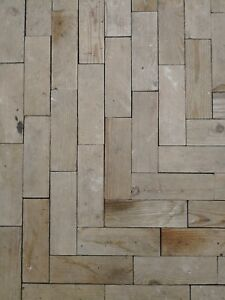 Image Is Loading Reclaimed Parquet Flooring Sample