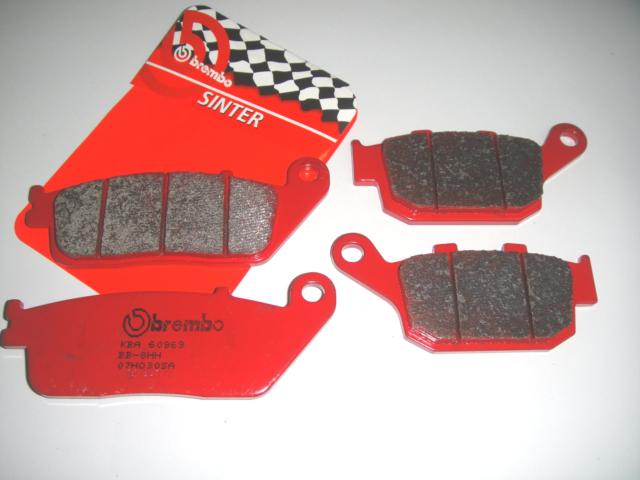 53SP Brake Pads BREMBO Sint Front Rear Honda NM4 750 Vultus 2015