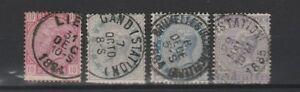 FRANCOBOLLI-1869-70-BELGIO-LEOPOLDO-II-Z-9296