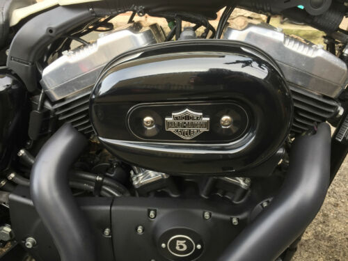 Metal Sissybar Backrest Emblem Badge For Harley Davidson Sportster Dyna Softail