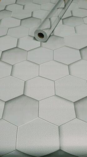 Tapete 10m x45cm dekor Folien Sechsecke 3043 D1 selbstklebende Folie