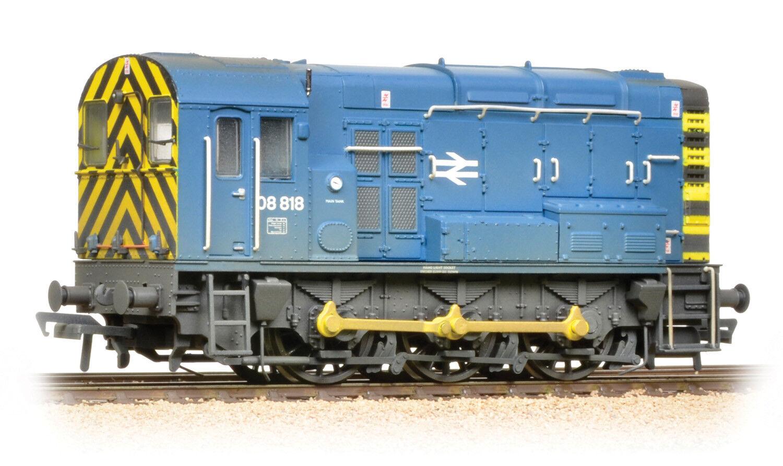 Bachmann 32 -115B Diesellok klass 08 08818 BR gealtert Spur 00