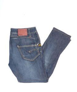 G-Star-Jack-Pant-WMN-Jeans-Jeans-Hose-W-30-L-32-Dunkelblau-Blau-30-32-Z679