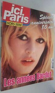 Rivista per Lettera Qui Parigi H. Serie I Anni Bardot N° 3 Settembre 2014 Be
