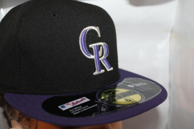 Colorado Rockies Era MLB Authentic Collection 59fifty Cap  f4988b32c37