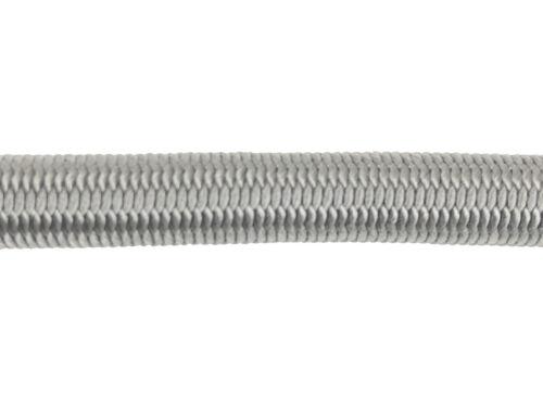 6mm Gris Élastique Corde X 20 Mètres Corde Arrimage