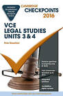Cambridge Checkpoints VCE Legal Studies Units 3 and 4 2016 and Quiz Me More by Peter Mountford (Mixed media product, 2015)