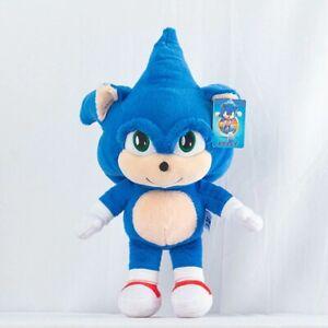 Sonic-The-Hedgehog-Plush-Toy-Doll-Stuffed-Animal-Movie-Kids-Baby-Boy-Girl-Gift