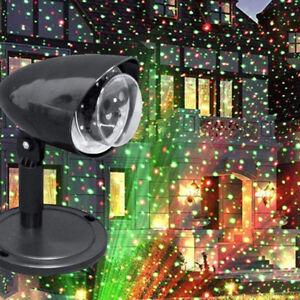 Faro Proiettore Luci Natalizie.Details Sur Proiettore Laser Natale Esterno Giardino 10 Mt Luce Led Feste Faro Addobbo Luci