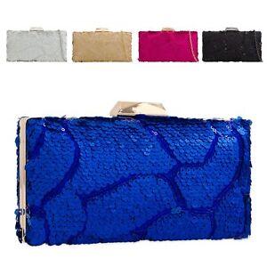 Ladies-Designer-Sequined-Box-Clutch-Bag-Glitter-Evening-Bag-Party-Handbag-KK2268