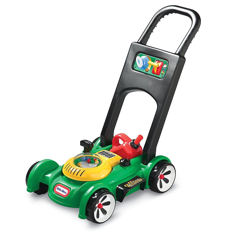 Little Tikes Gas N Go Mower Garden Garden Garden Lawnmower Kids Toy Playset & Sound Age 18m+ daf295