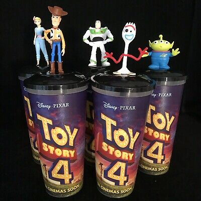 New Toy Story 4 Cup /& Topper Cinema Exclusive FORKY Pixar Disney