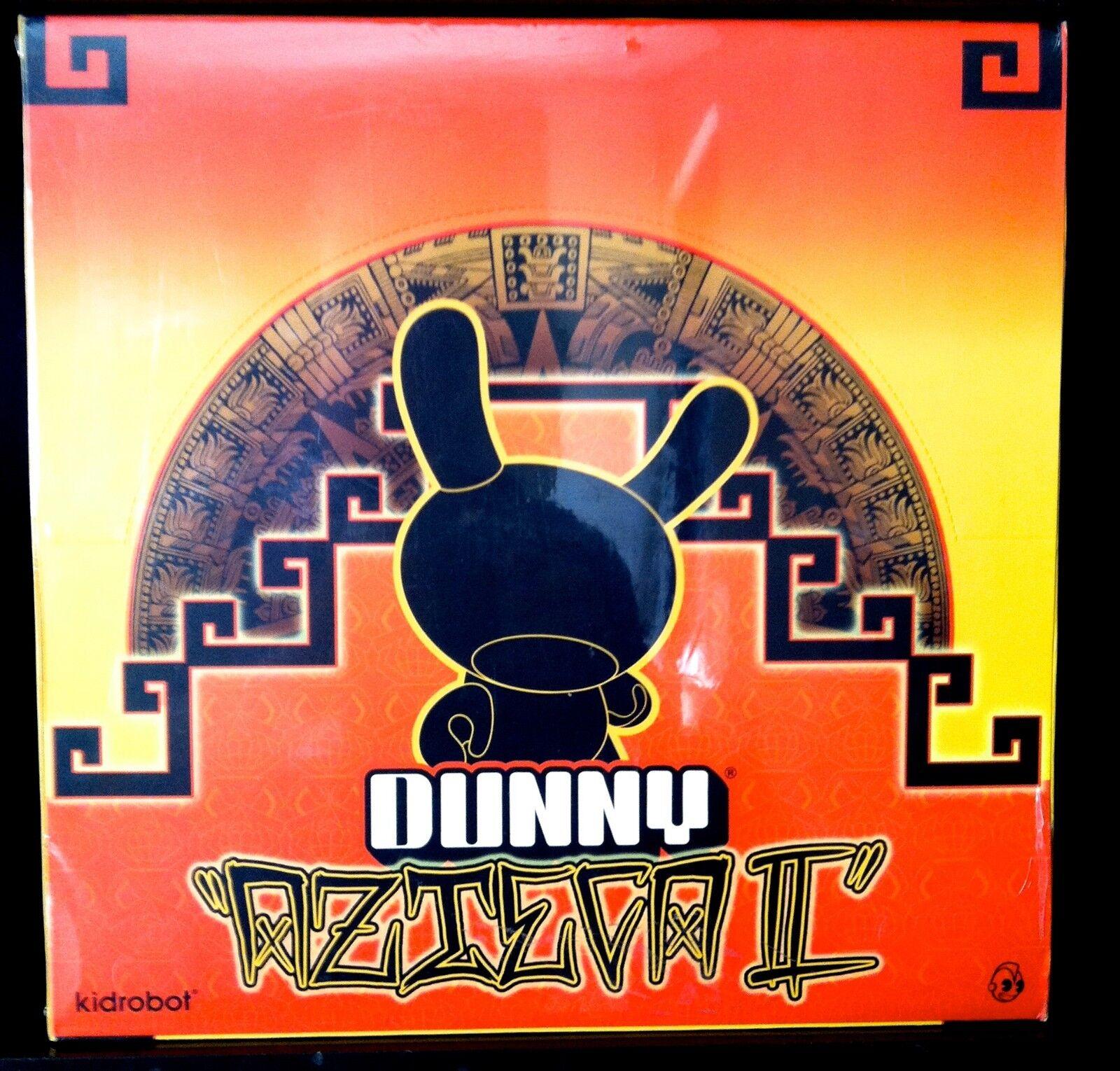 Dunny Azteca 2 serie 3 CAJA PRECINTADA 25 Figuras de juguete de diseñador Kidrobot ciego