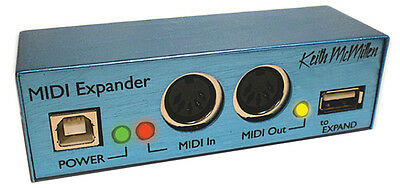 Keith McMillen Instruments MIDI Expander use with your KMI Softstep NEW