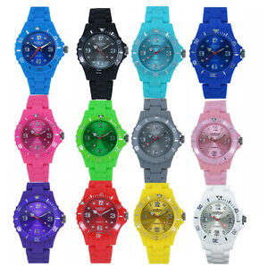 NEW-KIDS-BOYS-WATERPROOF-RUBBERIZED-STRAP-WATCH-PLASTIC-TOY-STYLE-GIRLS-UNISEX