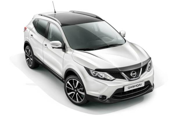 Genuine New Nissan Qashqai 2014 On Hood Deflector Genuine KE6104E000