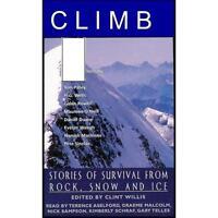 Audio Book Cassette Tales Of Mountain Survival Climb