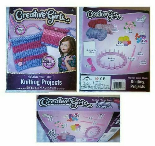 Creative Girls Make Your Own Knitting Projects To Make A Purse And Bag new
