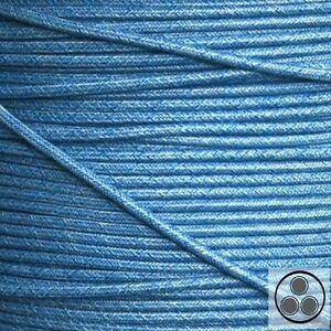 Kable Textilkabel Stoffkabel Lampen-Kabel Stromkabel Elektrokabel Retro Rot 3adrig