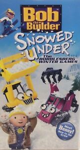 Bob the Builder - Snowed Under (W/Toy) [VHS] [VHS Tape] [2004]