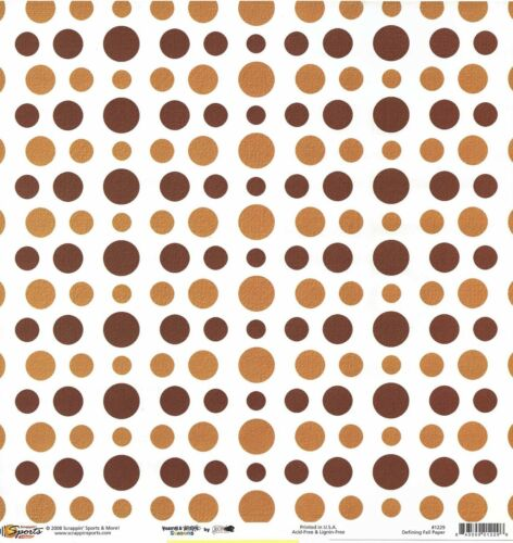 Autumn Defining Fall Scrapbooking Paper Double Sided 1229 SSM