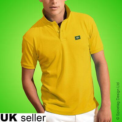 Brazil Polo Shirt Football World Cup Tshirt Flag Soccer Top Brasil Kit 2018 Tee