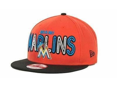Sport Letzter Ones Effizient Lizenziert New Era Miami Marlins 9fifty Strapback Hut Sick Deckel Weitere Ballsportarten